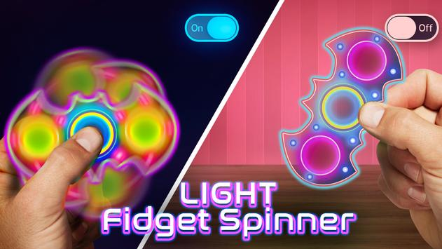 Light Fidget Spinner poster