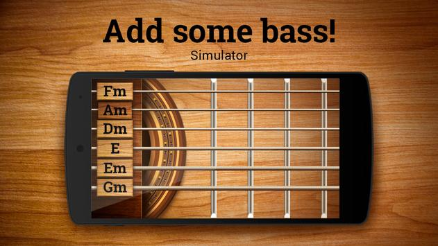 Real Bass Guitar Simulator screenshot 1