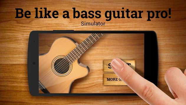 Real Bass Guitar Simulator screenshot 2