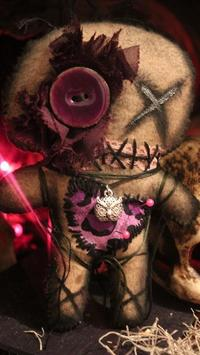 voodoo doll live wallpaper poster