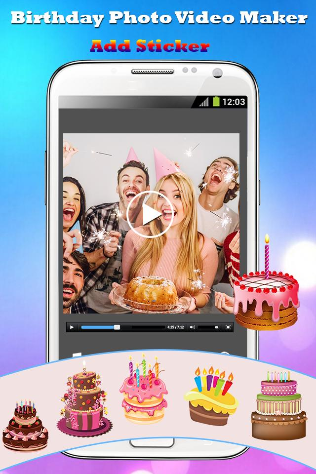 Happy Birthday Video Maker Mv For Android Apk Download