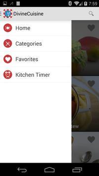 Divine Cuisine Recipes apk screenshot
