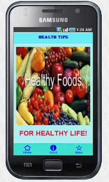 Health Tips poster