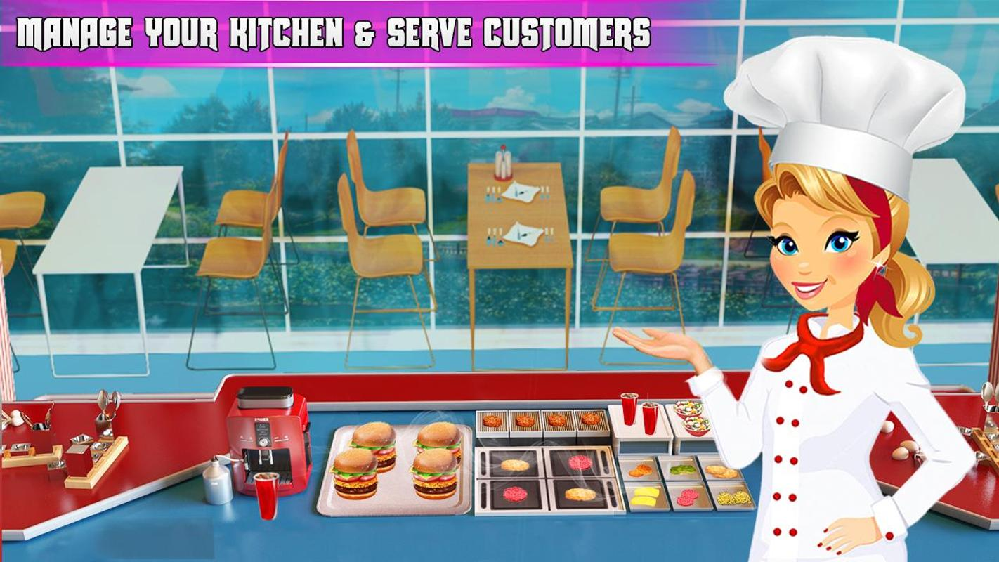 Cooking Burger Chef - Cooking Games for Android - APK Download