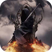 Death on Fireball LWP icon