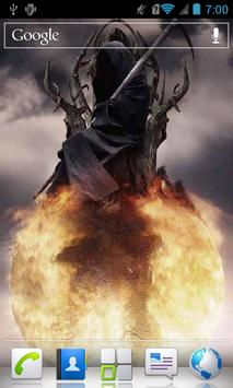 Death on Fireball LWP poster