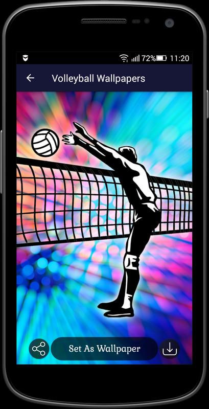... Volleyball Wallpapers स्क्रीनशॉट 3