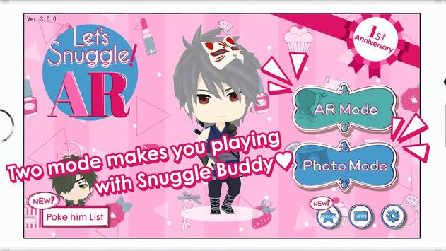 Let's Snuggle! AR poster