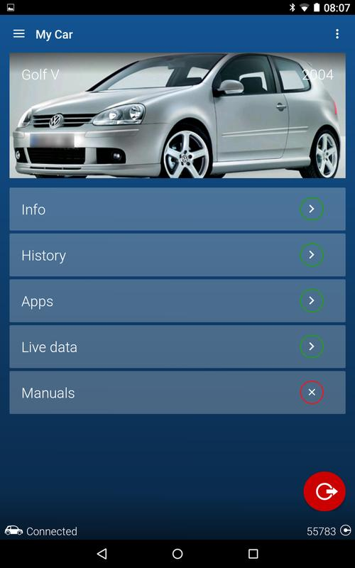 obdeleven pro car diagnostics app vag obd2 scanner apk. Black Bedroom Furniture Sets. Home Design Ideas