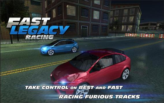 Fast Legacy Racing poster