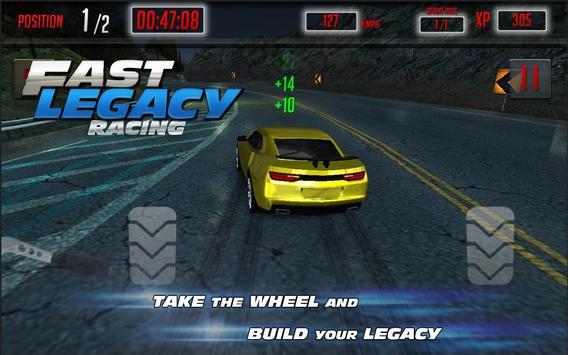 Fast Legacy Racing screenshot 2