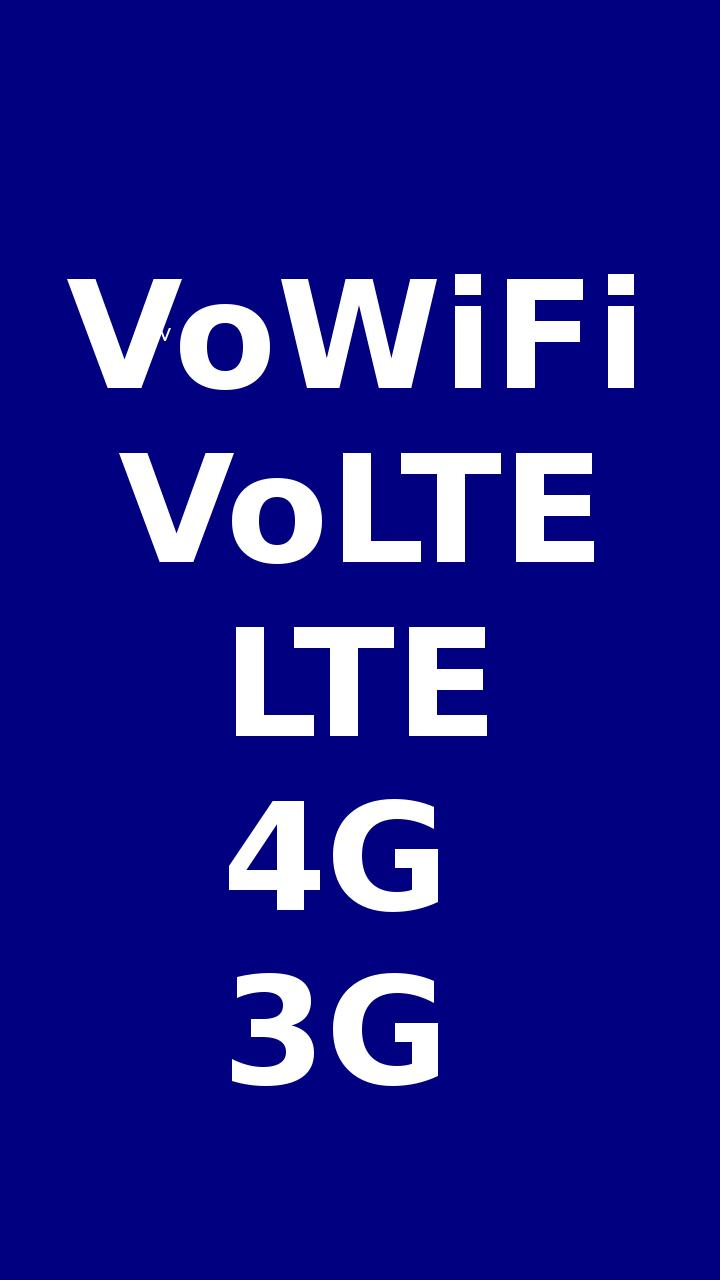 VoWiFi - VoLTE Enable in all Phones for Android - APK Download
