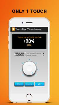 Volume Max - Volume Booster apk screenshot