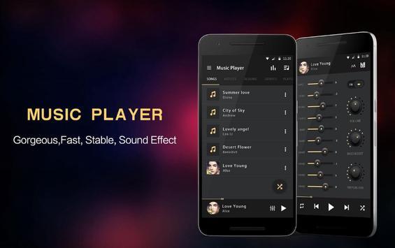 Super Volume Booster &EQ Music Player poster