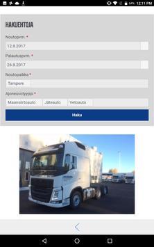 VOLVO TRUCK RENTAL KUORMA-AUTOVUOKRAUS screenshot 1