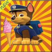 Hero dog game icon