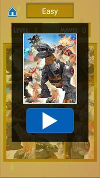 Dino robot puzzle screenshot 5