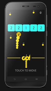 Snak Versus Numbers with finger apk screenshot