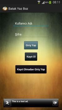 Batak Yaz Boz Defteri apk screenshot