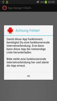 App Danger Check poster
