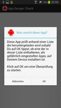 App Danger Check apk screenshot