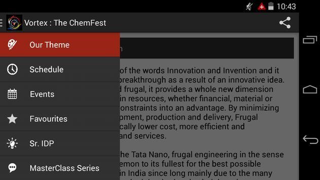 Vortex : The ChemFest apk screenshot