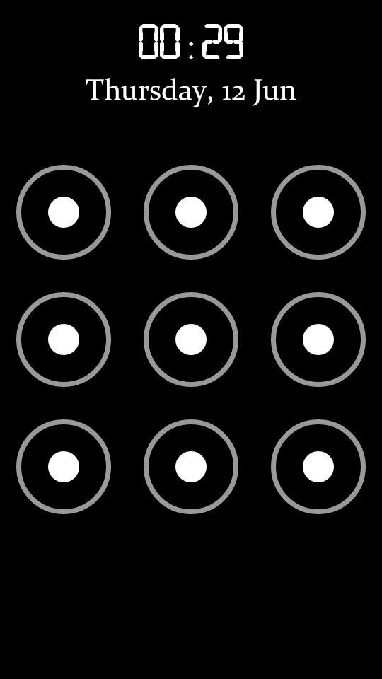 Режим постер экрана блокировки