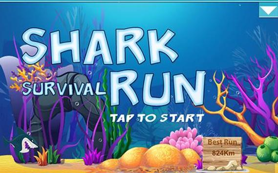 Shark Survival Run poster