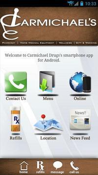 Carmichael Drugs poster