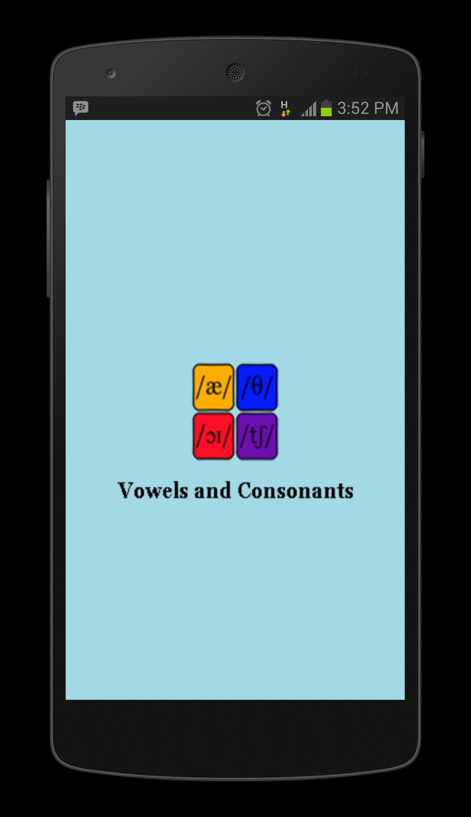 Vowels and Consonants for Android - APK Download