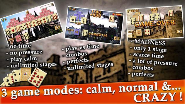 ThreeTowers, The Tripeaks Free Solitaire Game Card screenshot 7