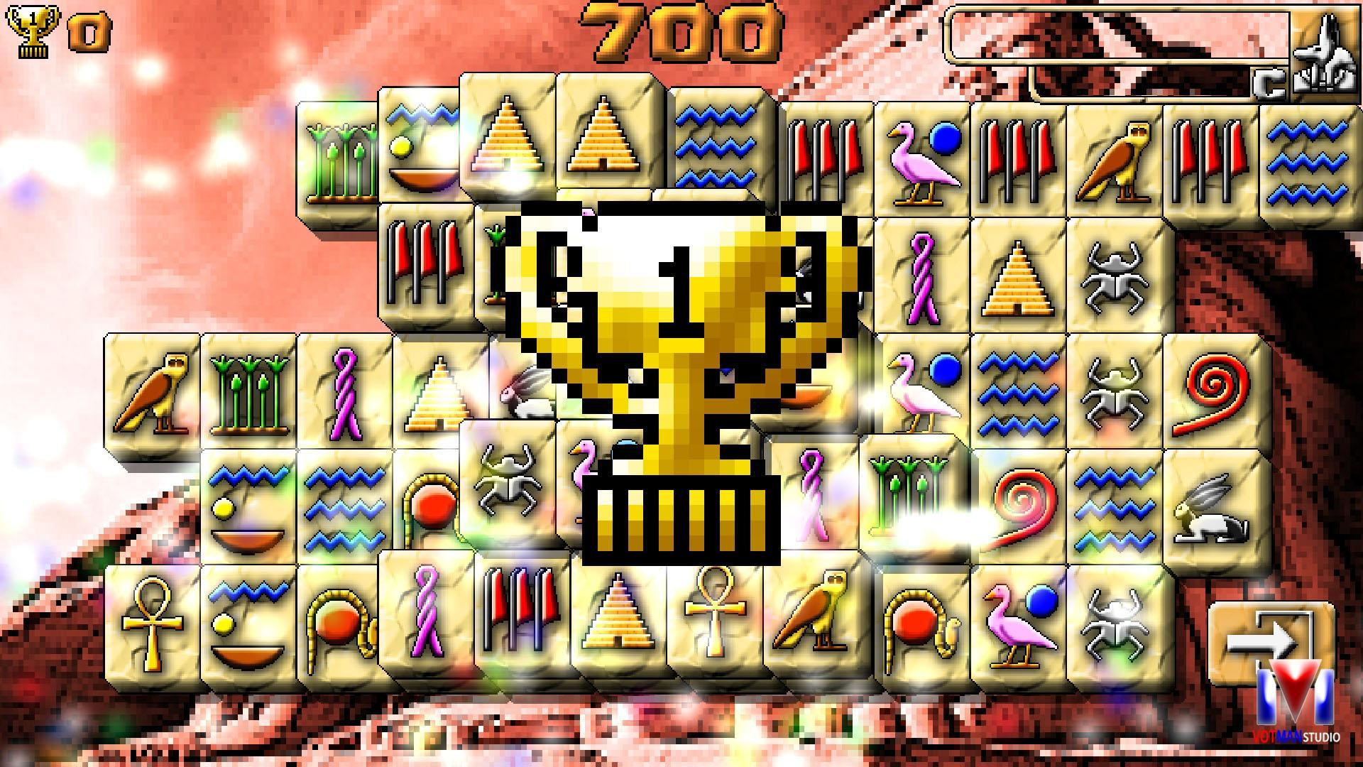 Shanghai Plus: Free Mahjong Egyptian Solitaire for Android - APK