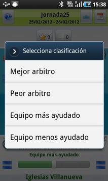 Vota arbitro apk screenshot