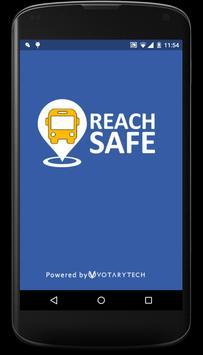 ReachSAFE School poster
