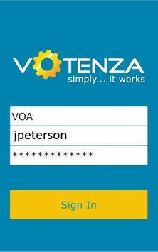 Votenza - Automotive CRM poster