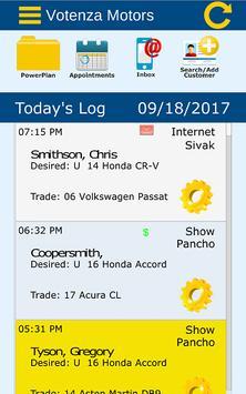 Votenza - Automotive CRM screenshot 1