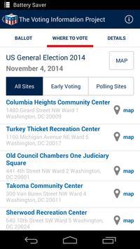 Voting Info Project apk screenshot