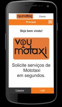 Vou Motaxi - Clientes screenshot 1