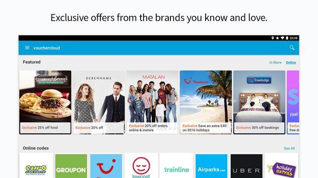 vouchercloud: deals & offers apk screenshot