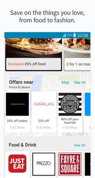 vouchercloud: deals & offers apk screenshot