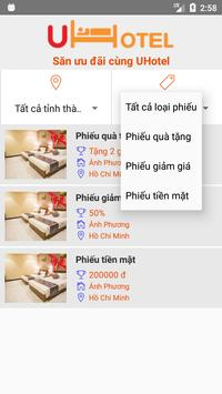 UHotel apk screenshot