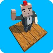 Pixel Road 3D icon