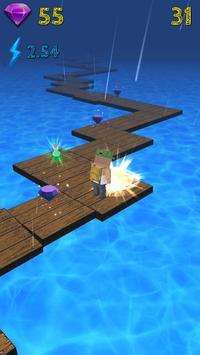 Pixel Road 3D screenshot 1