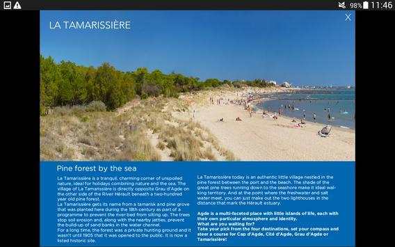 Cap d'Agde (English) apk screenshot