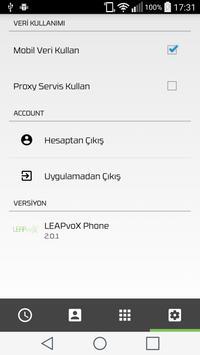 LEAPvoX Phone apk screenshot