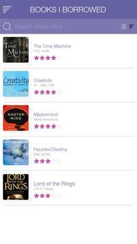 Borrow My Book apk screenshot