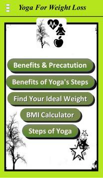 Yoga For Weight Loss apk screenshot