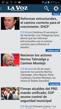 La Voz de Michoacán apk screenshot