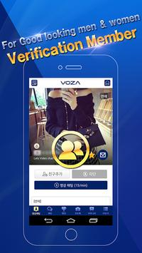 VOZA Live - Video Chat, Robust Security Massenger screenshot 1