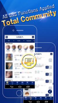 VOZA Live - Video Chat, Robust Security Massenger screenshot 2